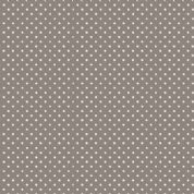 Spot by Makower UK - 5374 - White Spots on Steel Grey - 830_S5 - Cotton Fabric